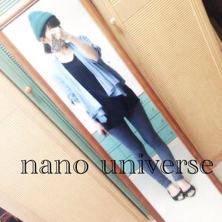 ナノユニバース(nano・universe)の17☆nano universe羽織もの(ノーカラージャケット)