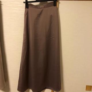 UNITED ARROWS - 🟢🟫大幅最終値下げ‼️ユナイテッドアロウズ サテンスカート
