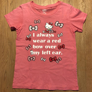 ユニクロ(UNIQLO)のユニクロ キッズ キティー Tシャツ(Tシャツ/カットソー)