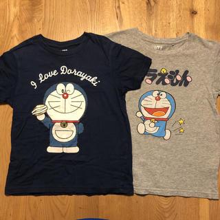 ユニクロ(UNIQLO)のユニクロ キッズ ドラえもん Tシャツ 2枚セット(Tシャツ/カットソー)