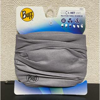Buff バフ ネックゲーター Coolnet UV+ Soild Grey(その他)