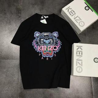 ケンゾー(KENZO)の[新品]KENZO タイガー M、Lサイズ ブラックTシャツ(Tシャツ/カットソー(半袖/袖なし))