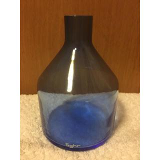 スガハラ(Sghr)のスガハラ Sghr ブルー 一輪挿し (花瓶)