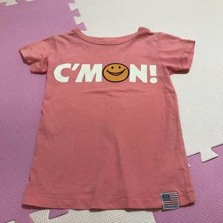 ブリーズ(BREEZE)のBREEZE ヴィンテージ  Tシャツ ニコちゃん 110 ピンク 綿 ブリーズ(Tシャツ/カットソー)
