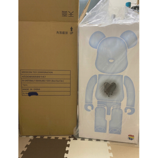 メディコムトイ(MEDICOM TOY)のBE@RBRICK UNAVAILABLE Black Heart 1000%(その他)