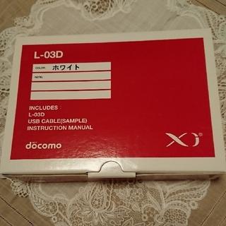 エヌティティドコモ(NTTdocomo)のdocomo L-03D 元箱 説明書付き(PC周辺機器)