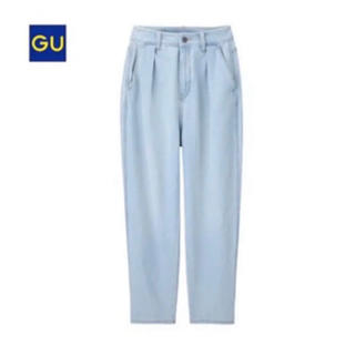 GU - 【gu】ハイウエストマムジーンズ