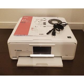 キヤノン(Canon)のキャノン ピクサス プリンター TS8130 ホワイト【ジャンク】(PC周辺機器)