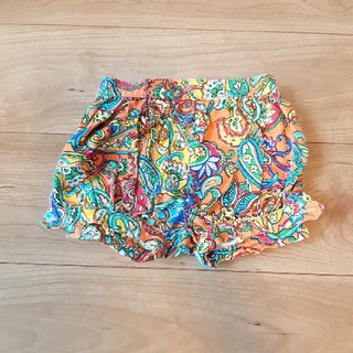 ポロラルフローレン(POLO RALPH LAUREN)のラルフローレン 柄 ショートパンツ 9M(パンツ)
