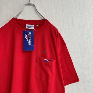リーボック(Reebok)の新品 90年代 Reebok ポケット Tシャツ ワンポイント ビッグサイズ(Tシャツ/カットソー(半袖/袖なし))