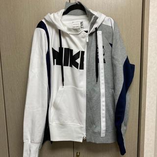 サカイ(sacai)のNIKE×sacai ダブルジップパーカー サカイ hoodie(パーカー)