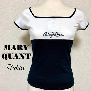 MARY QUANT - 未使用 MARY QUANT スクエアネックTシャツ マリークワント