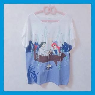 しまむら - リトルマーメイド アリエキスザガール Tシャツ