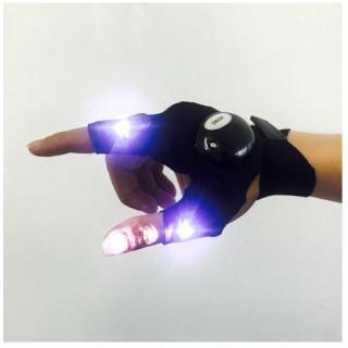 ライトグローブ LED フィッシング 夜釣り 高輝度 ピンポイント照射 手袋(その他)