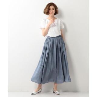UNITED ARROWS - ヴィンテージサテンスカート