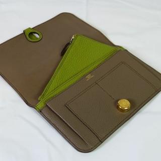 エルメス(Hermes)のドゴンGM トゴ コインケース付き バイカラー エルメス(財布)