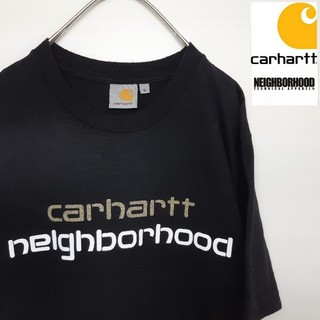 carhartt - carhartt × neighborhood コラボ Tシャツ S