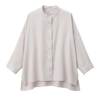 ムジルシリョウヒン(MUJI (無印良品))のリヨセルワイドシャツ(シャツ/ブラウス(長袖/七分))