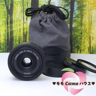 キヤノン(Canon)のキャノン単焦点レンズ☆EF 40mm F2.8 STM!826-1(レンズ(単焦点))