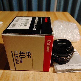 キヤノン(Canon)のレンズ単焦点 Canon-EF-40mm(レンズ(単焦点))
