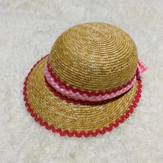 シャーリーテンプル(Shirley Temple)のシャーリーテンプル 麦わら帽子 ハット 48cm(帽子)