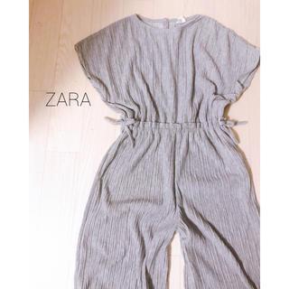ザラ(ZARA)のZARA リブオールインワン140(パンツ/スパッツ)