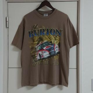 Hanes - NASCAR Tシャツ 古着 両面ビッグプリント カーレース 車