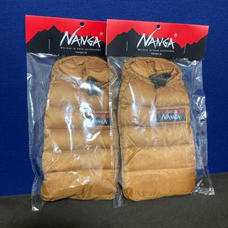 ナンガ(NANGA)のセット ナンガ NANGA ミニスリーピングバッグ携帯ケース(寝袋/寝具)