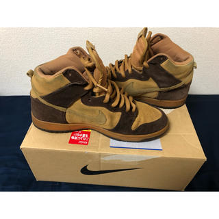 NIKE - Dunk SB High Brown 28.5cm