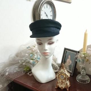シャネル(CHANEL)の再値下げ CHANEL シャネル ブラック マニッシュ ハット 帽子(ハット)