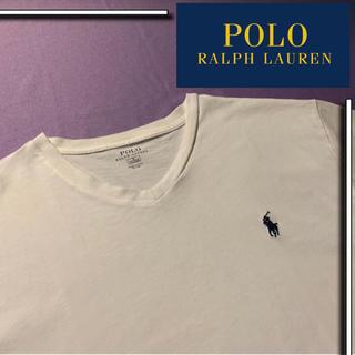 POLO RALPH LAUREN - 【美品✨】POLO Ralph Lauren vネック tシャツ ワンポイント