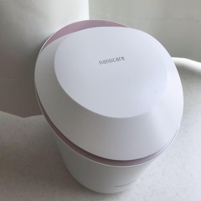 Panasonic(パナソニック)のPanasonic ナノケア EH-CSA9A スマホ/家電/カメラの美容/健康(フェイスケア/美顔器)の商品写真