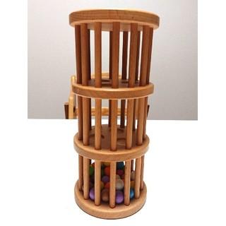 ラトルタワー エデュテ 知育玩具 木のおもちゃ
