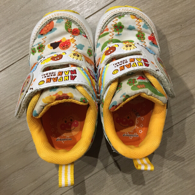 アンパンマン(アンパンマン)のアンパンマン 13センチ 靴 シューズ スニーカー 幼児 ファーストシューズ キッズ/ベビー/マタニティのベビー靴/シューズ(~14cm)(スニーカー)の商品写真