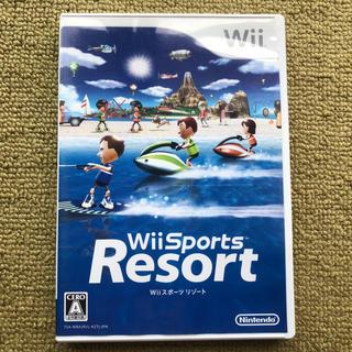 ウィー(Wii)のWiiソフト(Wiiスポーツリゾート)(家庭用ゲームソフト)