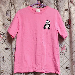 メリージェニー(merry jenny)のmerry jenny パンダ Tシャツ ピンク(Tシャツ(半袖/袖なし))