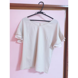 プロポーションボディドレッシング(PROPORTION BODY DRESSING)の袖フリル♡トップス💕(カットソー(半袖/袖なし))
