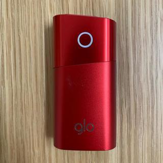 グロー(glo)のglo ミニ 限定カラー赤 G101 本体のみ(その他)