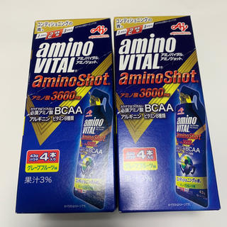 アジノモト(味の素)のアミノバイタル アミノショット 8本(アミノ酸)