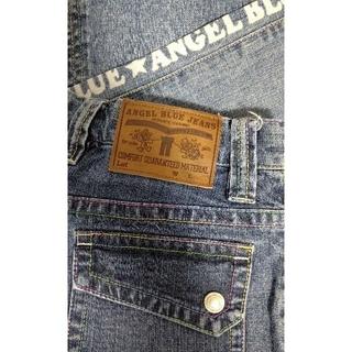 エンジェルブルー(angelblue)の⑧   ANGEL BLUE     七分丈デニムパンツ     L (160)(パンツ/スパッツ)