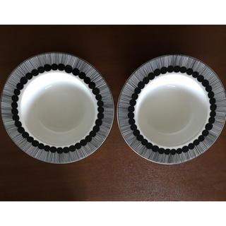 マリメッコ(marimekko)のマリメッコ シイルトラプータルハ ディーププレート 2枚セット(食器)