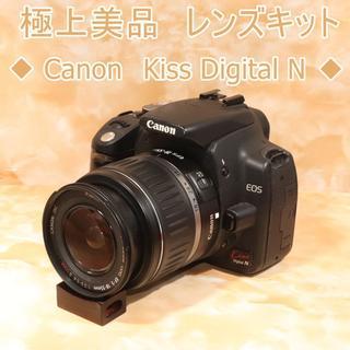 キヤノン(Canon)の★美品級&初心者おススメ★キヤノン kiss N レンズキット (デジタル一眼)