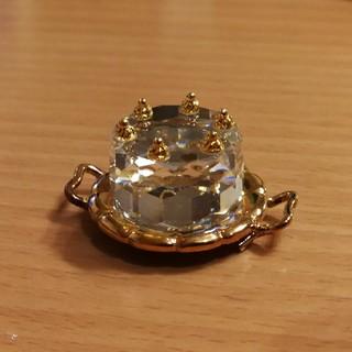 スワロフスキー(SWAROVSKI)のスワロフスキー クリスタルメモリーズ バースデーケーキ(ガラス)