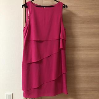 ザラ(ZARA)のZARA ザラ ワンピース ドレス ピンク フォーマル パーティー(ひざ丈ワンピース)