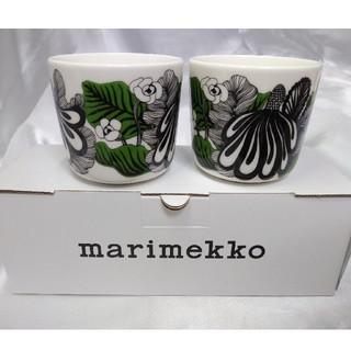 マリメッコ(marimekko)の②訳有り マリメッコ ラテマグ 2つセット(グラス/カップ)