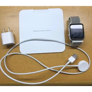 アップルウォッチ(Apple Watch)のApple Watch Series3 42mm(スマートフォン本体)