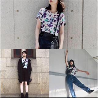 マメ(mame)のmame kurogouchi Tシャツ(Tシャツ(半袖/袖なし))