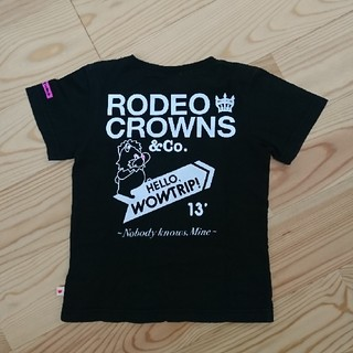 RODEO CROWNS WIDE BOWL - ロデオクラウンズ★キッズ Tシャツ