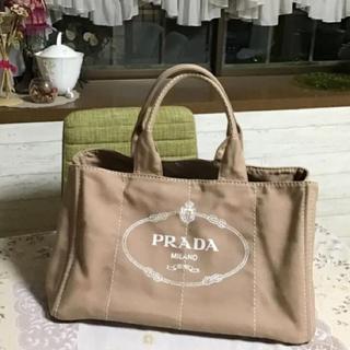 PRADA - 美品 プラダ カナパ L