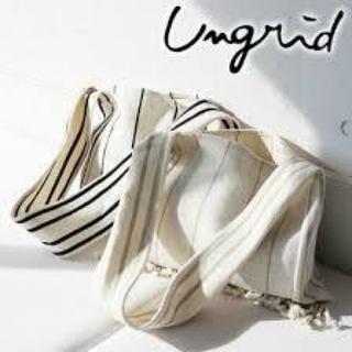 Ungrid - ungrid フリンジショルダーバッグ
